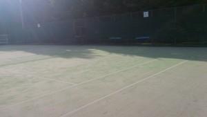 川西市市民運動場テニスコート