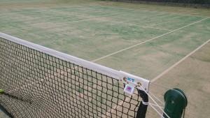 リニューアル後の川西市民運動場テニスコート