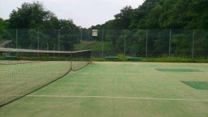 うぐいす池公園テニスコート