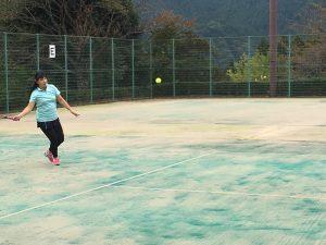 テニス合宿にて